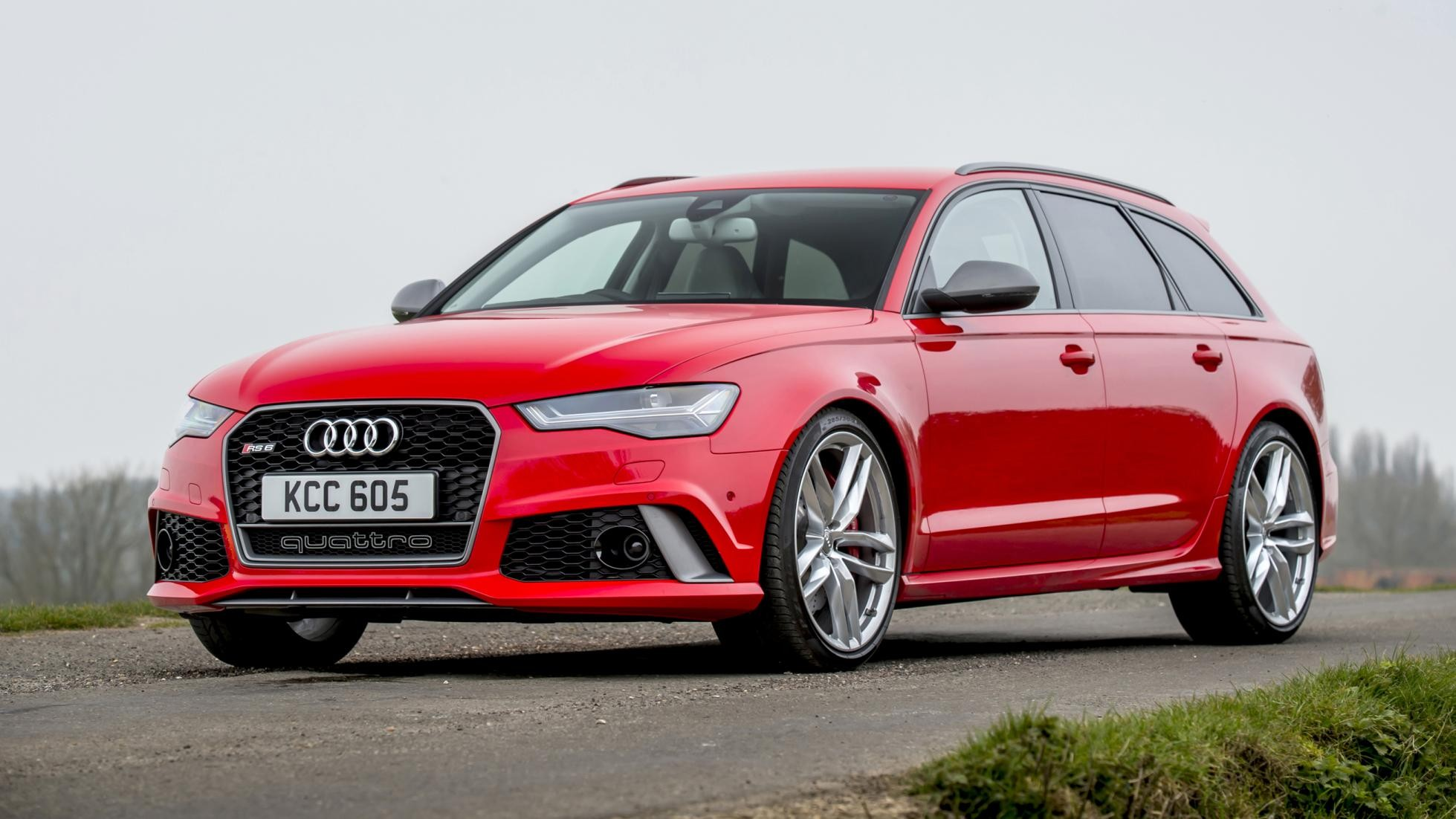 background - Audi RS 6 Avant performance