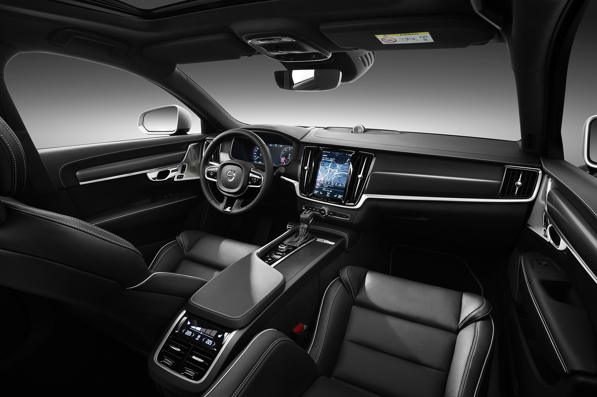 background - Víme jaké bude Volvo S90 a V90 R-Design 2016!