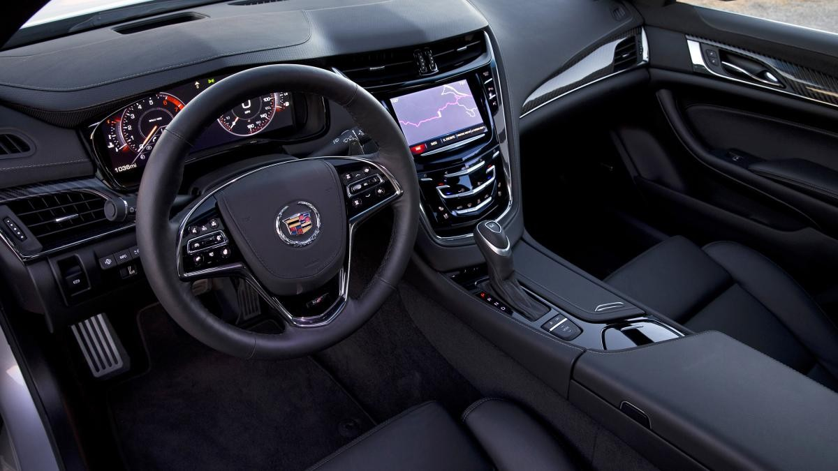 background - Americká elegancia -Cadillac CTS Vsport 2015