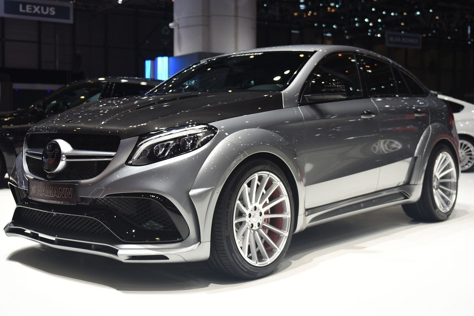 background - Hamann a GLE 63 S AMG!