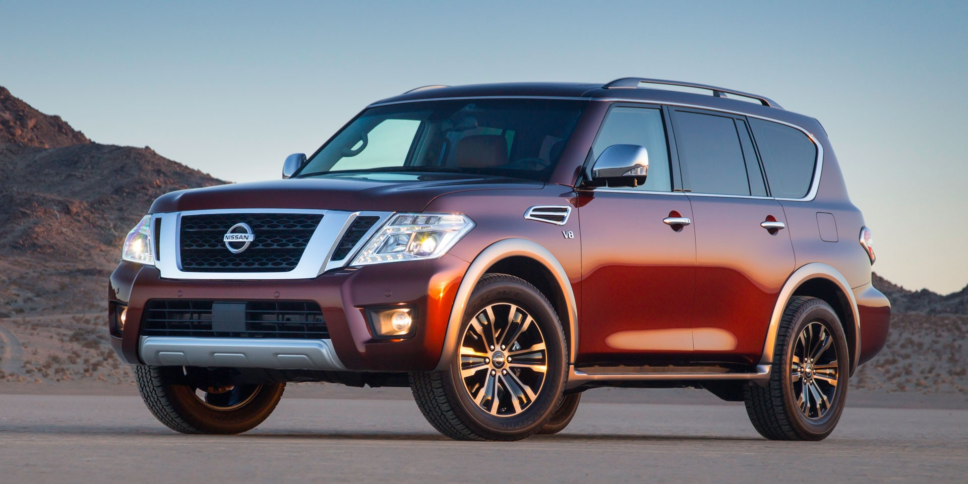background - 2017 Nissan Armada: luxusní mastodont
