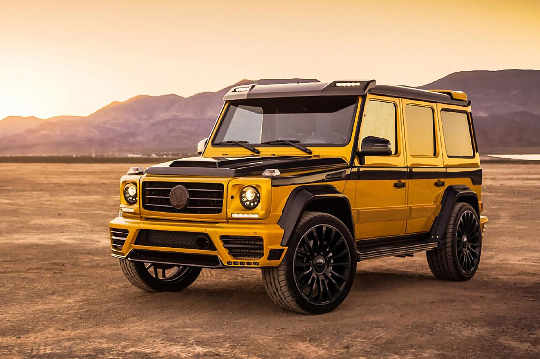 background - Mansory  Widebody kit pro Mercedes-Benz G-Class