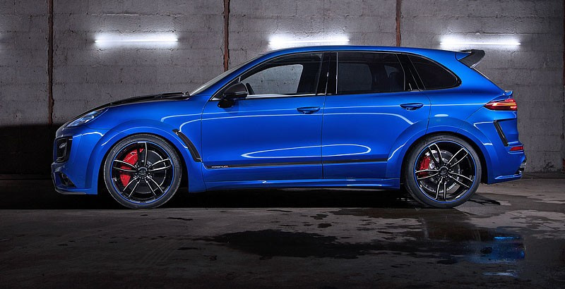 background - Porsche Cayenne TechArt Magnum Sport má výkon až 700 koní!