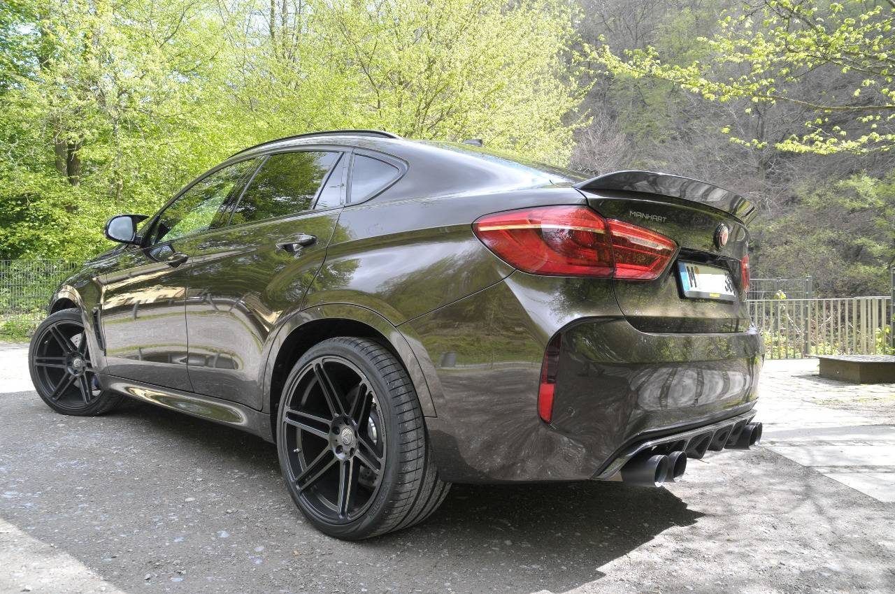 background - Manhart a nové BMW X6 M!