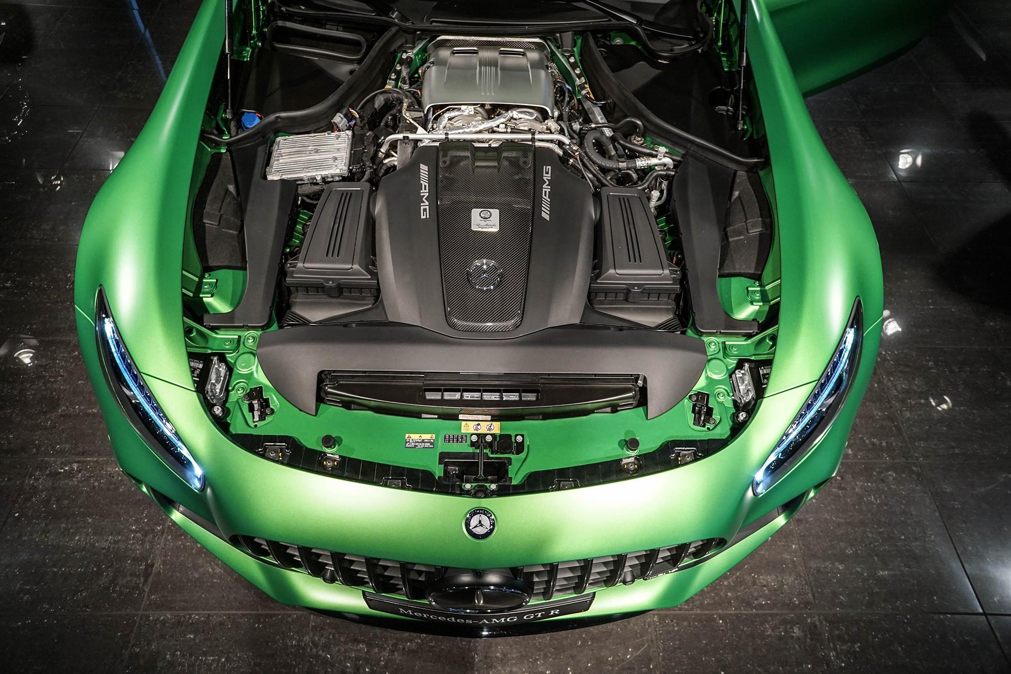 Mercedes-Benz AMG GT R motor pre C63 AMG R