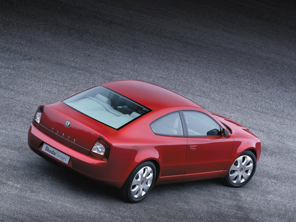 Škoda Tudor(Superb coupé) z roku 2002