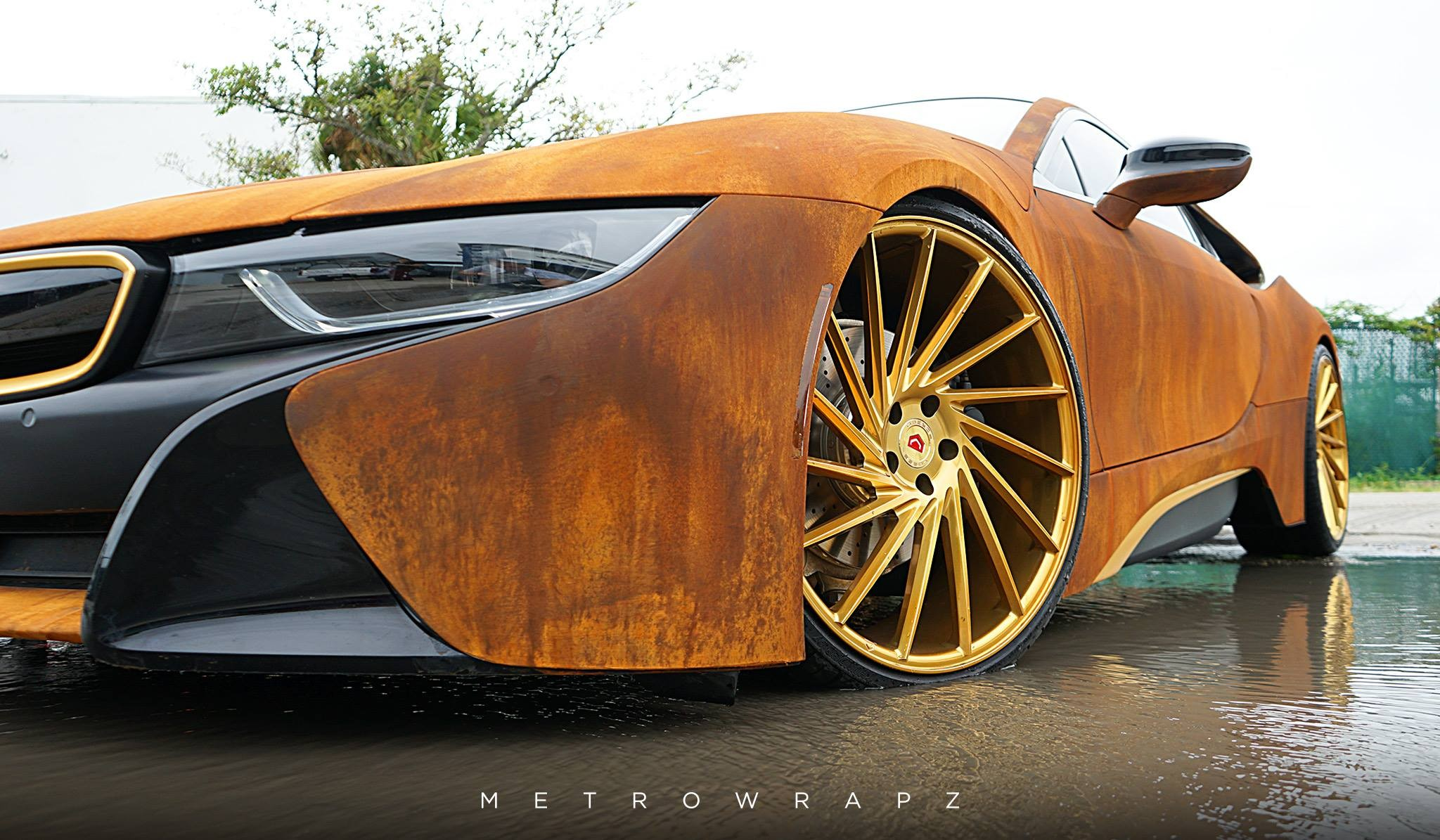 BMW i8 Austin Mahone