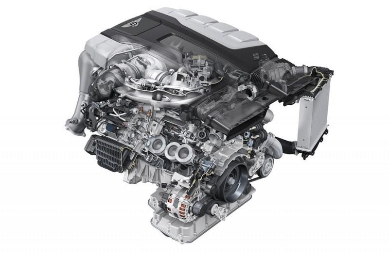 Bentley Bentayga diesel motor