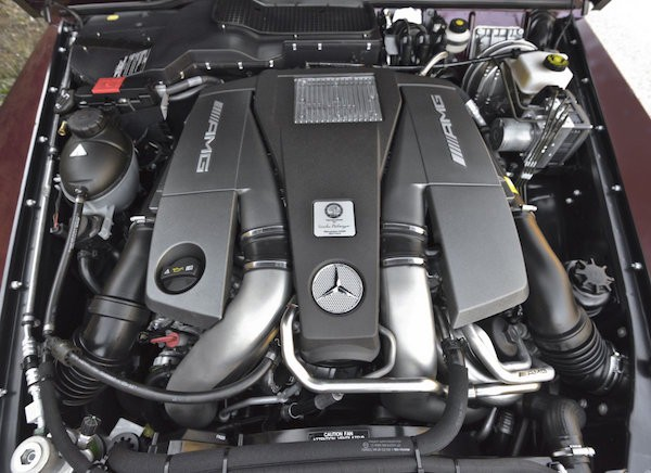V8 o objemu 5,5 litru od AMG