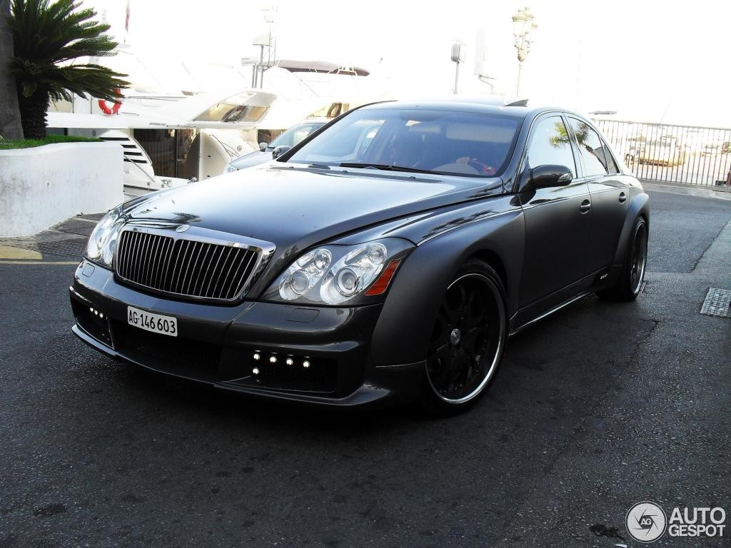 Maybach 57S FAB Design