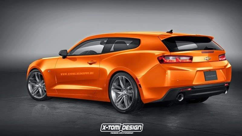Chevrolet Camaro RS ShootingBrake