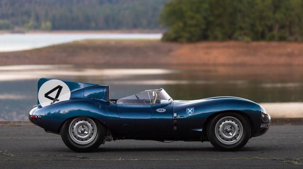 Jaguar D-Type z roku 1955