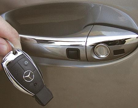 Keyless Go najdeme třeba u Mercedesu