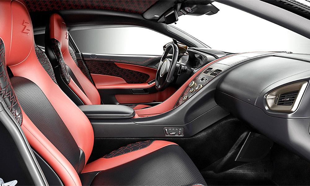 Aston Martin Vanquish Zagato Concept interiér