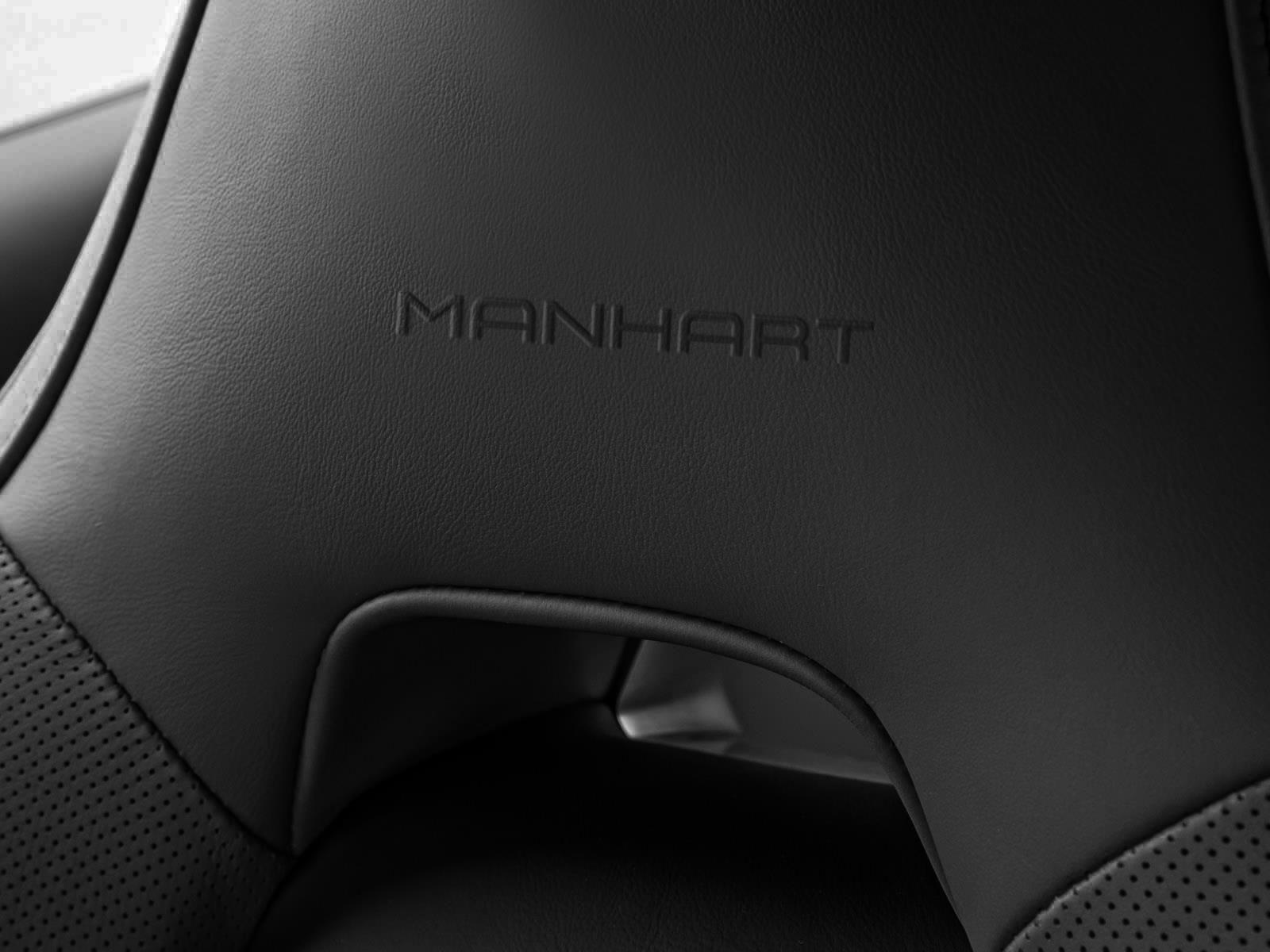 X6 M Manhart racing interiér