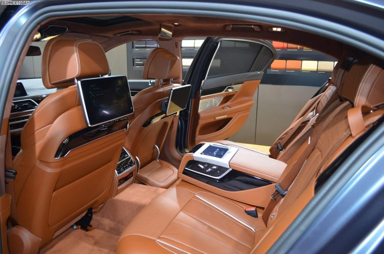 BMW 750d/Ld 2017 interiér