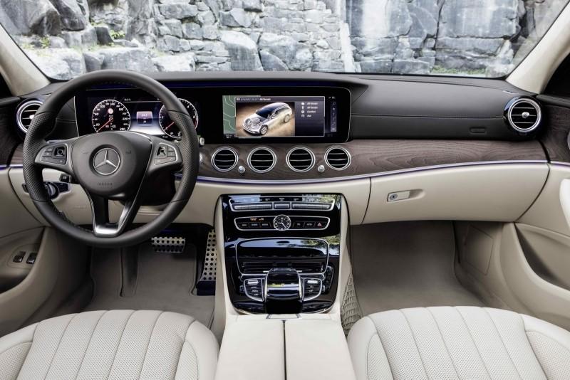 Mercedes-Benz triedy E All-Terrain interiér