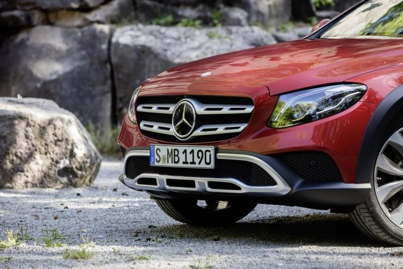 Mercedes-Benz triedy E All-Terrain predná maska