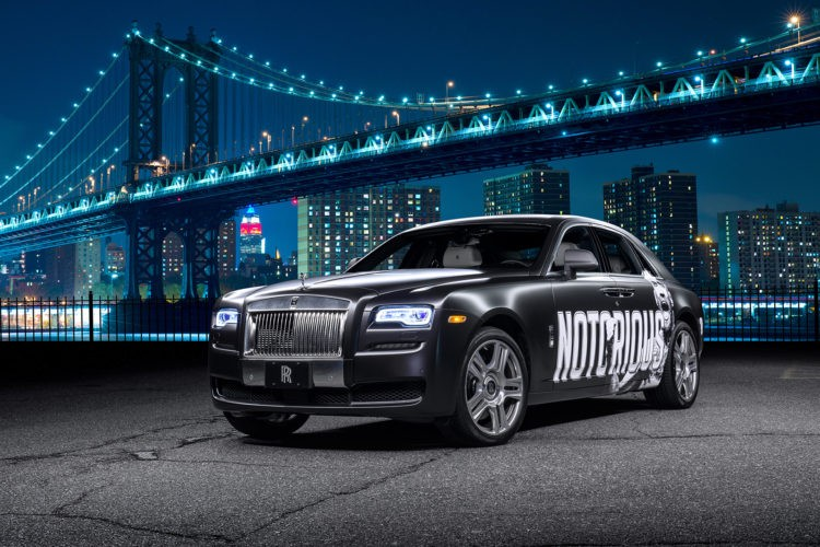 Conor McGregor Notorious Rolls Royce Ghost