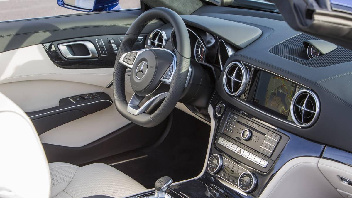Od ostatních Mercedesů se příliš neliší