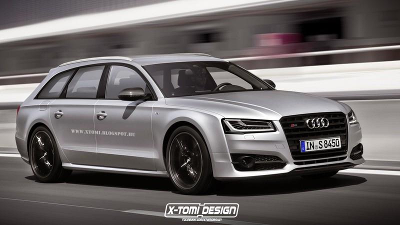 Audi S8 Avant Plus