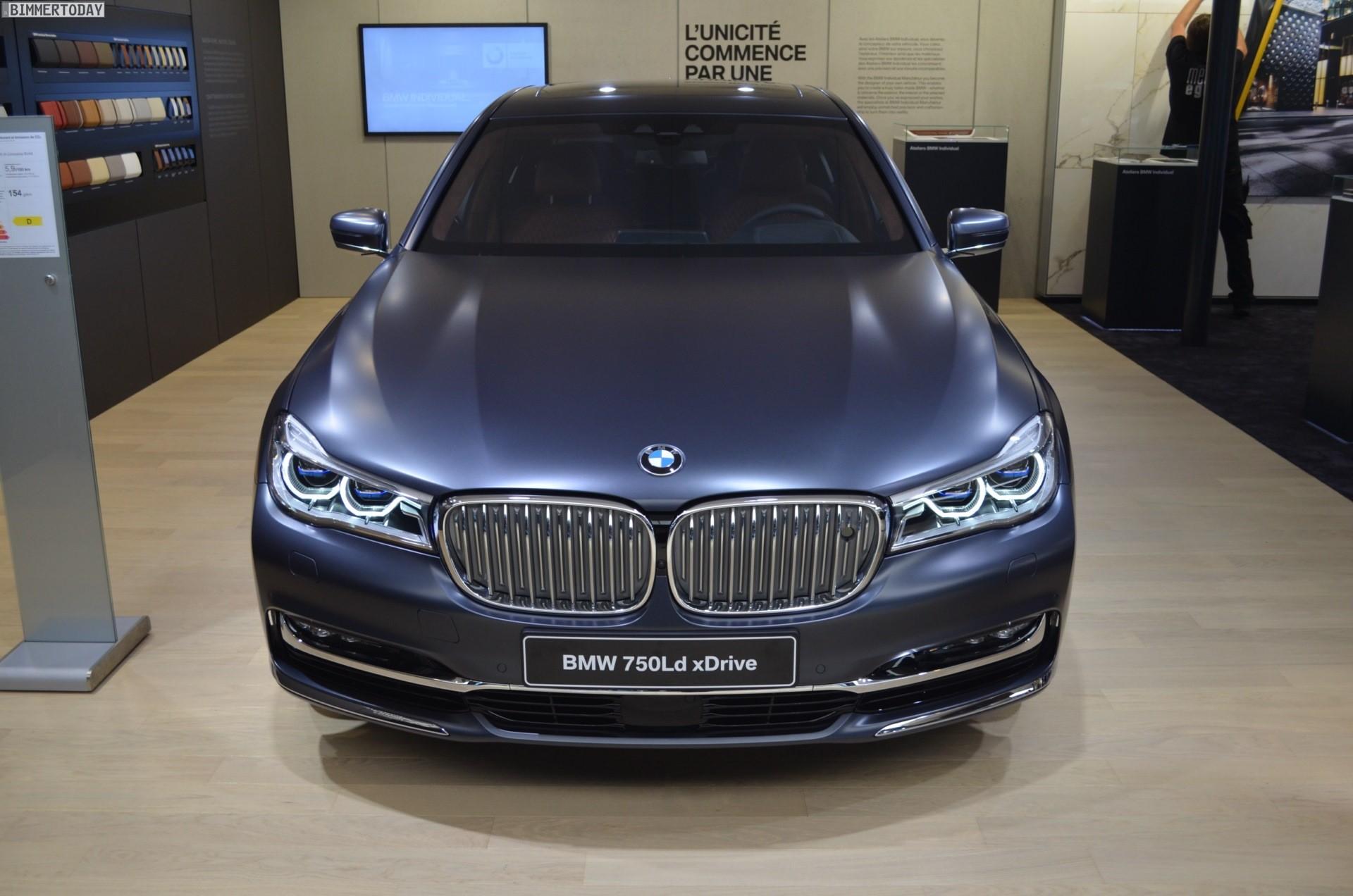 BMW 750d/Ld 2017