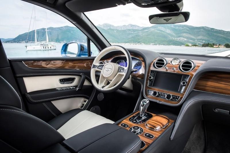 Bentley Bentayga diesel interiér