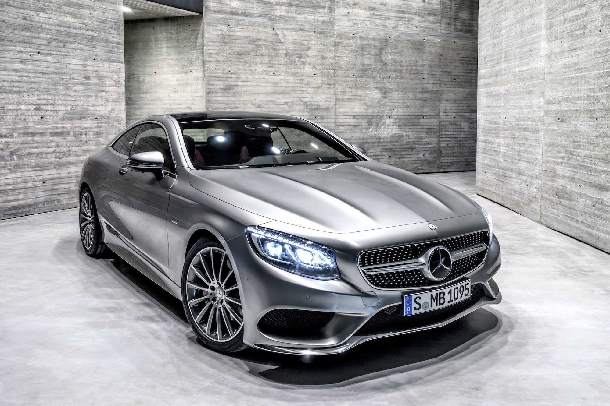 Mercedes Benz S Coupe 2015