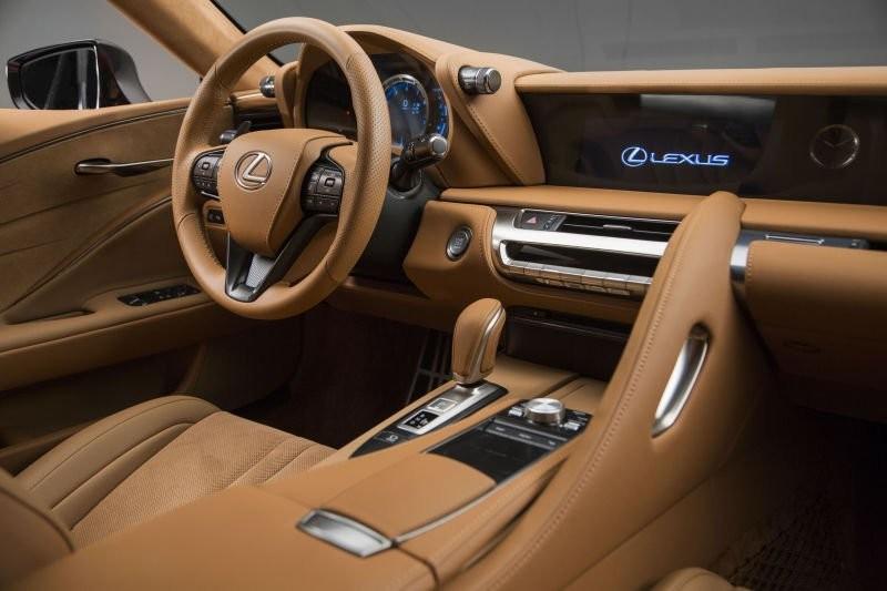 Lexus Lc 500 interiér