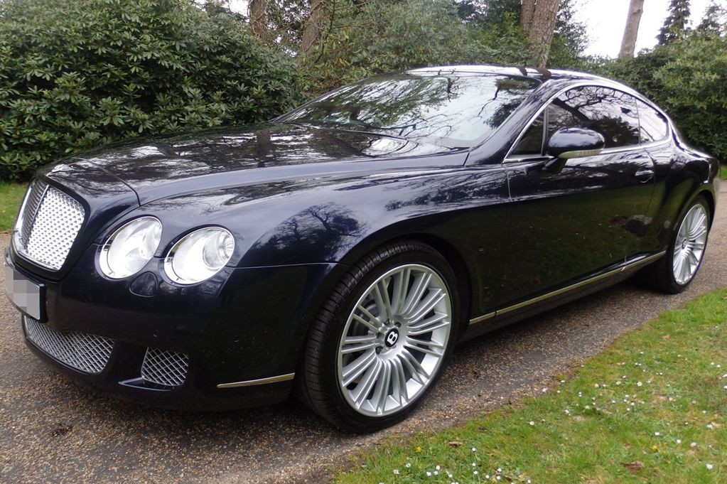 Ronaldovo Bentley Continental GT Speed