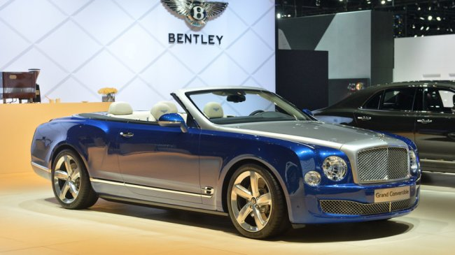 Bentley Grand Convertible: kabriolet za 76 miliónů