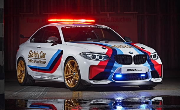 BMW M2 safety car?