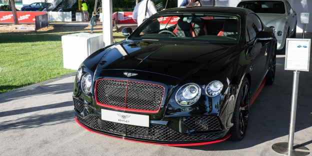 Jedinečná edice Bentley Continental GT Speed Black!