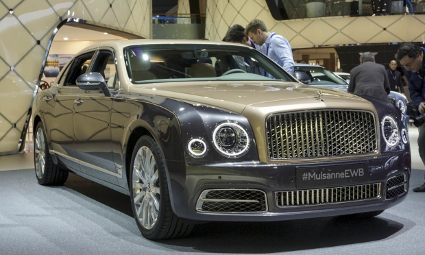 Luxusní Bentley Mulsanne First Edition