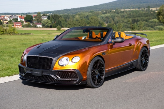 Mansory si vzalo do parády nový model Bentley Continental GTC 2016!