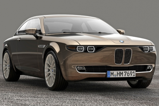 BMW Concept CS Vintage – hold Giovannimu Michelotti