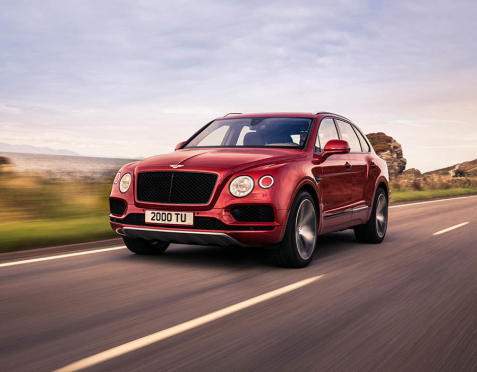 Bentley Bentayga - Nová V8!